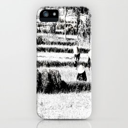 Rice field iPhone Case