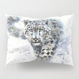 snow leopard Pillow Sham