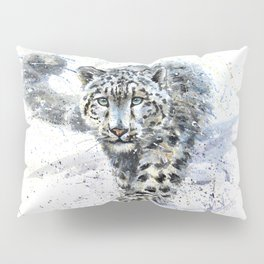 snow leopard Pillow Sham