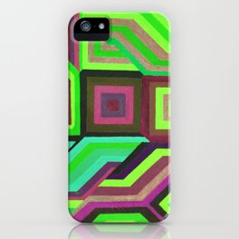 Love and Logic Colour Variation2 iPhone Case