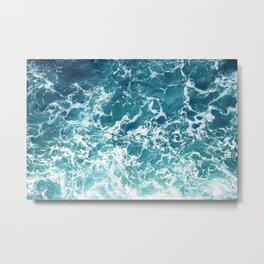 Print 213 - Ocean Water 3 Metal Print