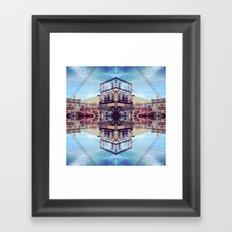 The Art Alley Framed Art Print