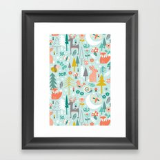 Forest Of Dreamers Framed Art Print
