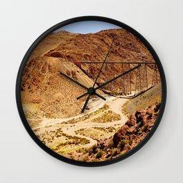 Tren a las nubes, Salta Wall Clock