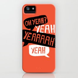 'Courage Of Your Convictions' - Motivational Print iPhone Case