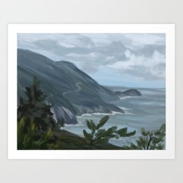 Cabot Trail 3 Art Print