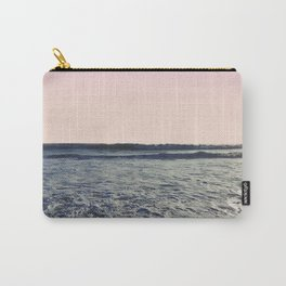 When The Waves Kiss The Shore Carry-All Pouch
