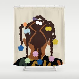 Black Girl Magic No. 2 Shower Curtain