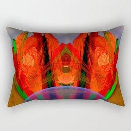 Flower arrangement Rectangular Pillow