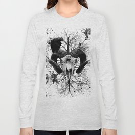 Wings and Horns of Death Long Sleeve T-shirt