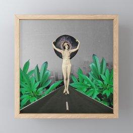 Another World Framed Mini Art Print