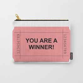 Red Ticket Carry-All Pouch