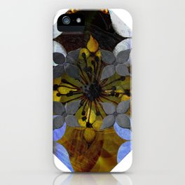 dogwoods abstract iPhone Case