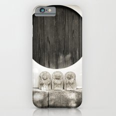 Jizo in Black and White, Kyoto iPhone 6s Slim Case