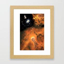 Emission Nebula Framed Art Print