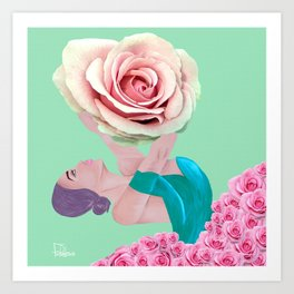 BalleRosa  Art Print