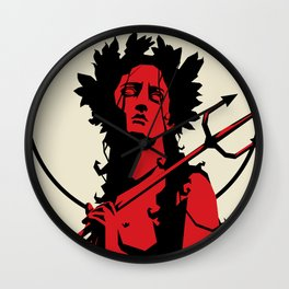 Witch of the night Wall Clock