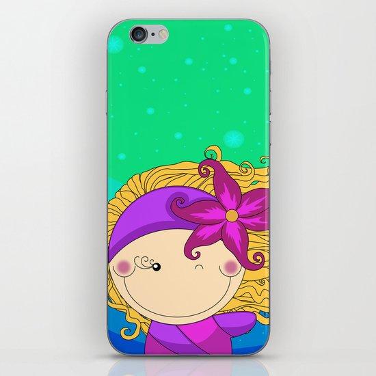 Unique, creative and very colorful, original,digital children illustration iPhone & iPod Skin