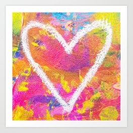 more love. Art Print