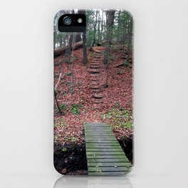 """""""Red"""" Woods iPhone Case"""