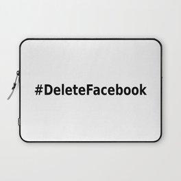 Delete Facebook Laptop Sleeve