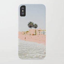 Pink Beach #society6 #decor #buyart iPhone Case