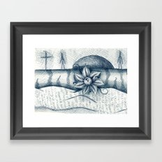 eyie Framed Art Print