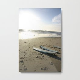 3 lone boards Metal Print