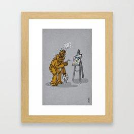 Art is for Humans Framed Art Print