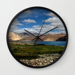 Lakeside Pangong Wall Clock
