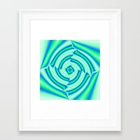 blues Framed Art Prints featuring Blues by Elena Indolfi