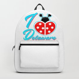 I Heart Delaware , I Love Delaware Backpack