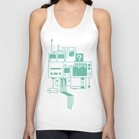 video games Tank Tops featuring Video Games by Isra