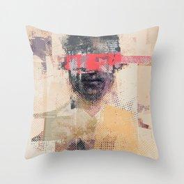 The villain Throw Pillow