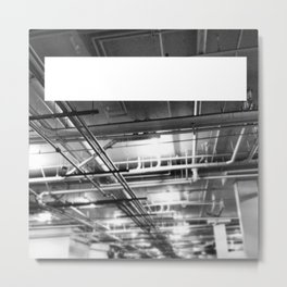Piped Horizon Metal Print