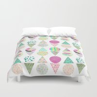 psychedelic Duvet Covers featuring Psychedelic by Catalina Montaña
