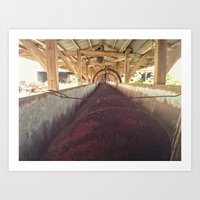 Old Barn Feed Shoot Art Print