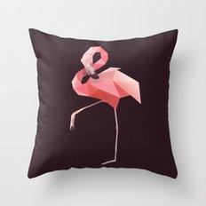 Flamingo. Throw Pillow