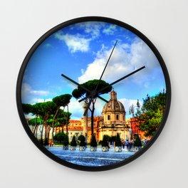 Beautiful Rome Wall Clock