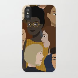 Women, Together iPhone Case