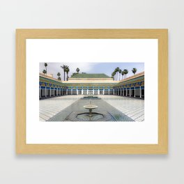 Palace in Morocco Framed Art Print