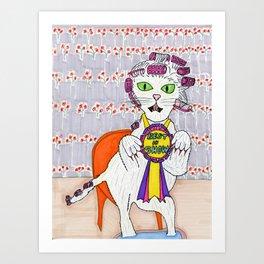 Winner Best in Show Art Print