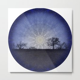 Celestial Clockwork Metal Print