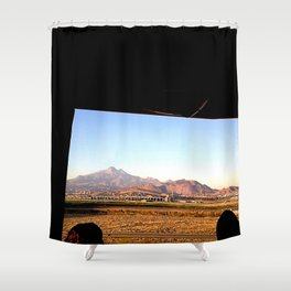 Age of Rock Shower Curtain
