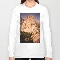 yosemite Long Sleeve T-shirts featuring Yosemite by Richard PJ Lambert