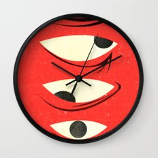 know where to look Wall Clock