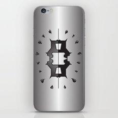 puppy love ink blot (Rorschach) iPhone & iPod Skin