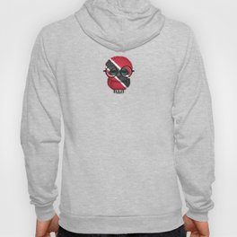 Baby Owl with Glasses and Trinidadian Flag Hoody