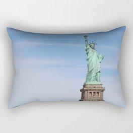 Lighting the Way to Freedom Rectangular Pillow