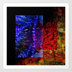 design abstract    ##   #  ## Art Print